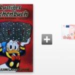 3 Ausgaben Lustiges Taschenbuch für 13,80€ + 10€ Gutschein oder Verrechnungsscheck