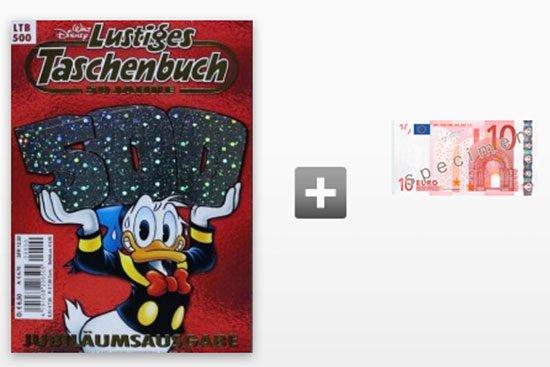 Taschenbuch Disney Abo Schnäppchen Deal Gutschein