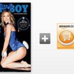 Playboy Jahresabo für 78,00€ + 70€ Amazon-Gutschein