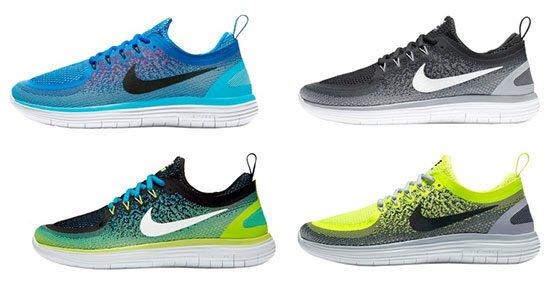 Nike Free RN Distance 2 Laufschuhe in verschiedenen