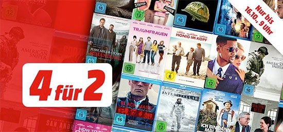 Filme Aktion MediaMarkt Bluray DVD