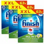 189 Finish Powerball All in 1 Citrus Spülmaschinentabs für 19,99€ inkl. Versand
