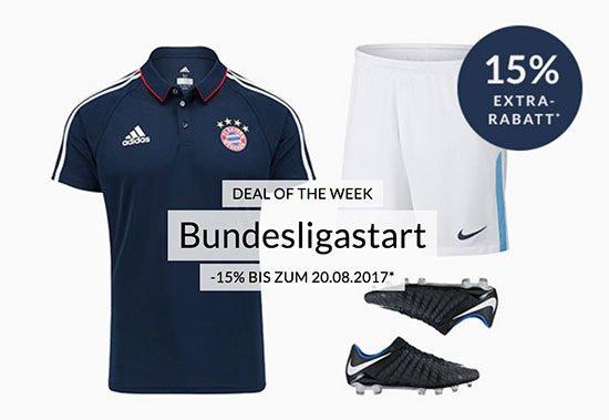 Engelhorn Sports Rabatt Fußball bundesliga