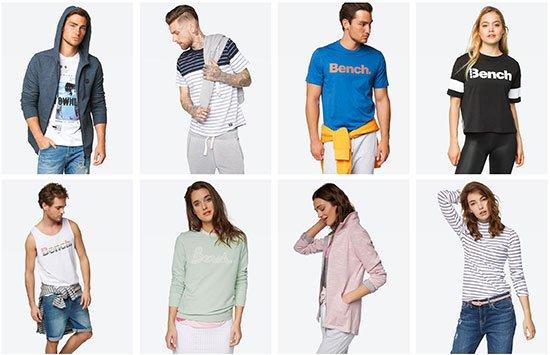 Sale Bench Angebot Deal Kleidung Schnäppchen