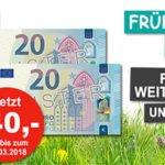 FIT FOR FUN-Jahresabo für 43,20€ inkl. 40€ Verrechnungsscheck
