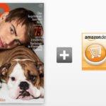"""Jahresabo """"GQ"""" für 57€ + 50€ Amazon-Gutschein"""