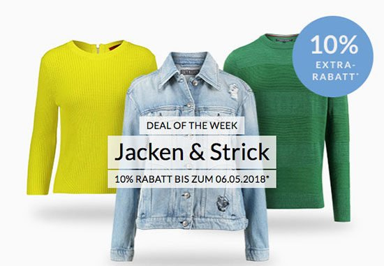 Jacken Strick Strickwaren Wolle Kleidung Schnäppchen Deal