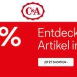 C&A Sale mit bis zu 70% Rabatt