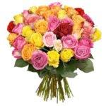 50 bunte Rosen für 24,98€ inkl. Versand