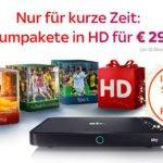 Sky Komplettpaket mit HD für 29,99€ statt 71,99€