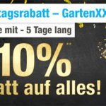 GartenXXL: 10% Gutschein – auch auf reduzierte Artikel