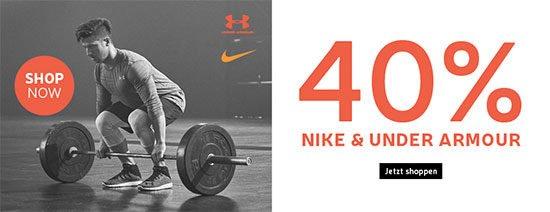 Rabatt Nike Under Armour Deal Schnäppchen Sport