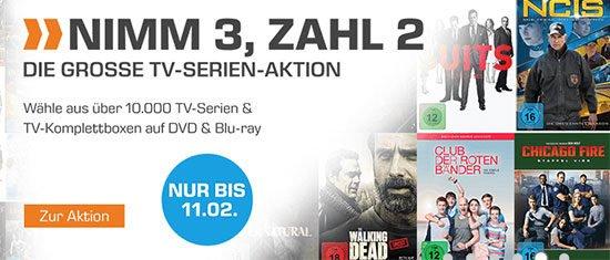 Serien TV-Serie Angebot Deal Schnäppchen Serienfreak