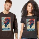 Star Wars Yoda T-Shirt für 10,99€ – Pullover für 18,99€ oder Hoodie 20,99€