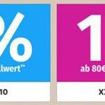 GartenXXL: 10% Rabatt auf alles oder 10€ ab 80€ MBW