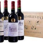 6 Flaschen goldprämierte Bordeaux-Weine in dekorativer Holzkiste für 39,99€ inkl. Versand