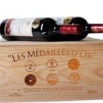 6 Flaschen goldprämierte Bordeaux-Weine in dekorativer Holzkiste für 44,94€ inkl. Versand