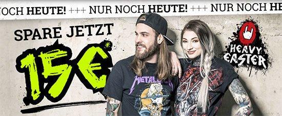 EMP Metal Musik Fankleidung günstig kaufen gutschein