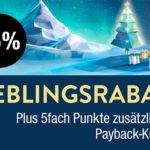 Galeria Kaufhof: 15% Rabatt auf das gesamte Sortiment