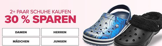 Schuhe Crocs Angebot Gutschein Deal