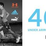 my-sportswear: 40% Rabatt auf das komplette Adidas, Puma & Under Armour-Sortiment