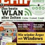 CHIP mit DVD (12 Ausgaben) für 95,40€ + 75€ Amazon-Gutschein