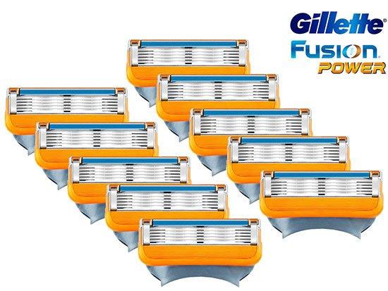 Ersatzklinge Gilette Fusion Rasier Nassrasierer angebot günstig