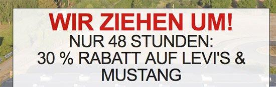 Kleidung Schnäppchen Deal Levis Levi's Mustang