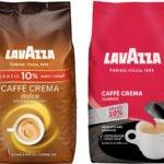 LAVAZZA Caffè Crema Classico oder LAVAZZA Caffe Crema Dolce mit 1kg + 10% mehr Inhalt für 9,90€ inkl Versand