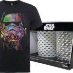2 Star Wars Gläser + T-Shirt für 20,48€ inkl. Versand