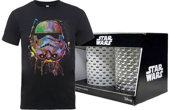 Star Wars T-Shirt Gläser Deal Bundle