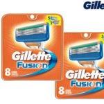 16x Gillette Fusion Rasierklingen für 29,95€ inkl. Versand (statt 39,05€)