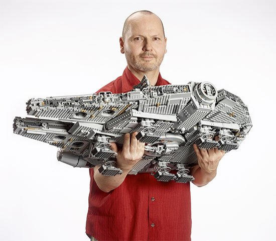Lego STAR WARS Millennium Falcon Angebot Deal Fan