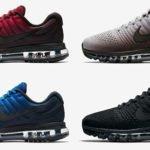 Vier Nike Air Max 2017 Modelle für je 133,00€ inkl. Versand (statt 170,00€)
