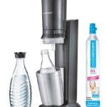 SodaStream Crystal 2.0 mit Glaskaraffe und 60L Zylinder für 79,99€ inkl. Versand (statt 97,00€)
