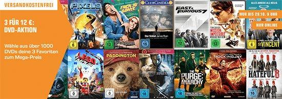 DVD Saturn Aktion Deal Schnäppchen