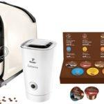 Cafissimo Pure Kapselmaschine + elektrischer Milchaufschäumer + Probierset für 63,99€ (statt 109,03€)