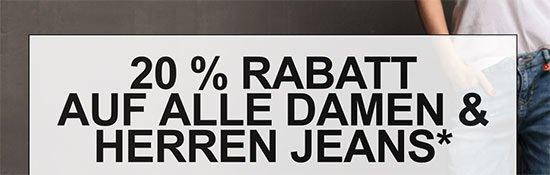 Gutschein Jeans Hosen Angebot Deal