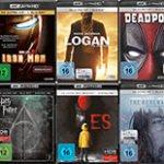 Drei 4K UHD Blu-rays für 50,00€ inkl. Versand