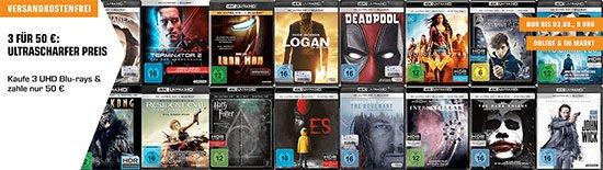 Deal Angebot Blu-ray schnäppchen