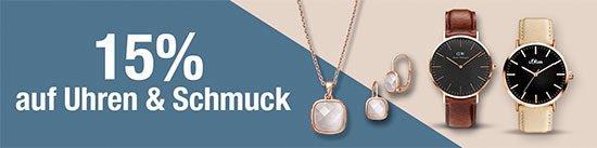 Schmuck Uhren Galeria Kaufhoff Rabatt Sparaktion