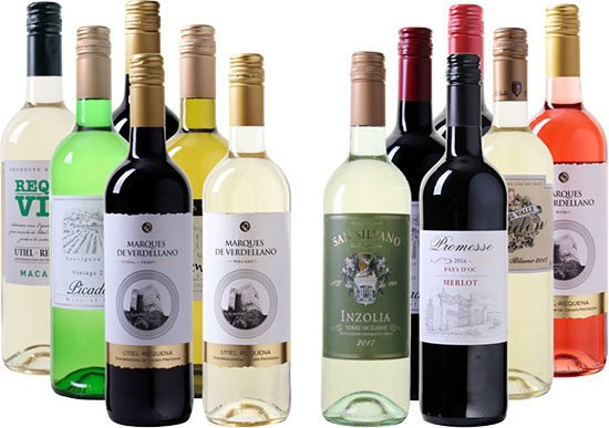Weinpaket Angebot Deal Schnäppchen