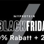 Myprotein: Sale mit 70% Rabatt + 20% Extra-Rabatt