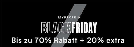 Black Friday Myprotein Angebot Deal Sparen