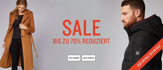 Tom Tailor Sale Angebot Aktion Deal