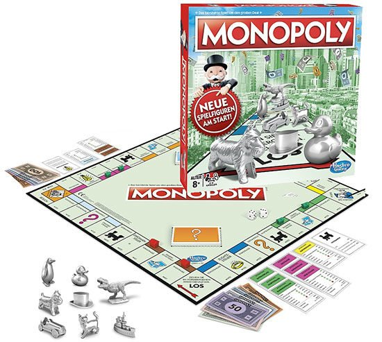 Monopoly Classic Brettspiel Hasbro Angebot Deal