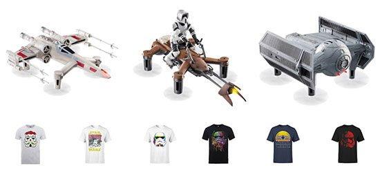 Angebot Deal Drohnen Star Wars T-Shirt