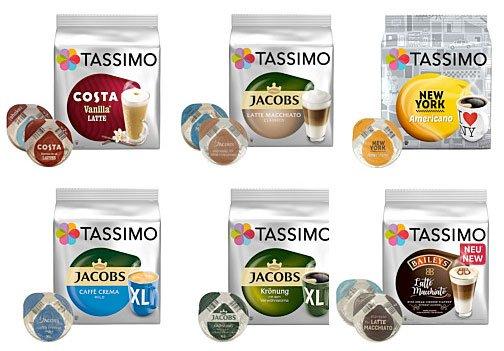 Tassimo Maschine Kapseln Angebot Deal