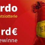 Weihnachtslotterie El Gordo 2019 (ca. 2,4 Mrd. € Gewinne)