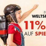 Galeria Kaufhof: 11% Rabatt auf alle Spielwaren